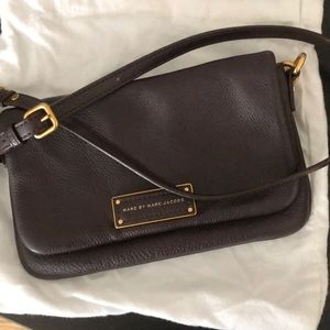 Marc by Marc Jacobs Brown Leather crossbody purse